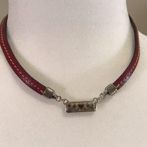 Brighton Rectangle Heart Necklace
